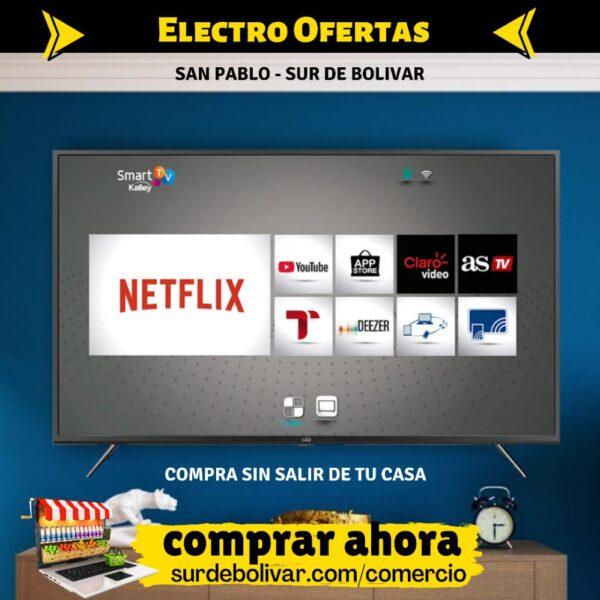Mostrar tv kalley de electroofertas san pablo sur de bolivar