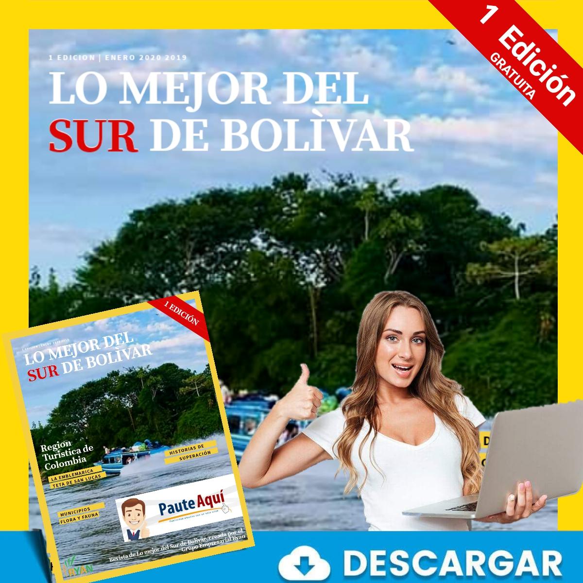 Descarga la revista digital de Lo mejor del sur de Bolivar