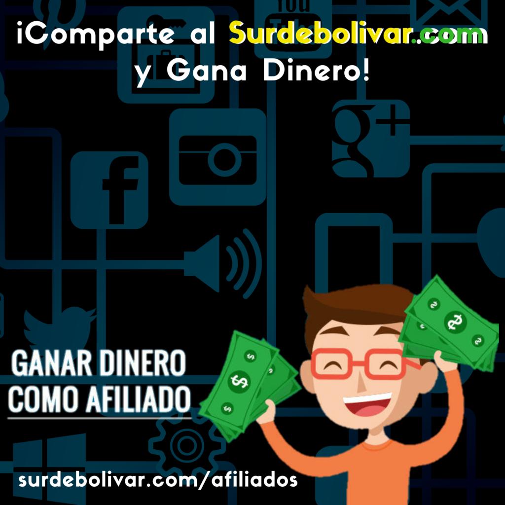 Gana Dinero como afiliado de sur de bolívar
