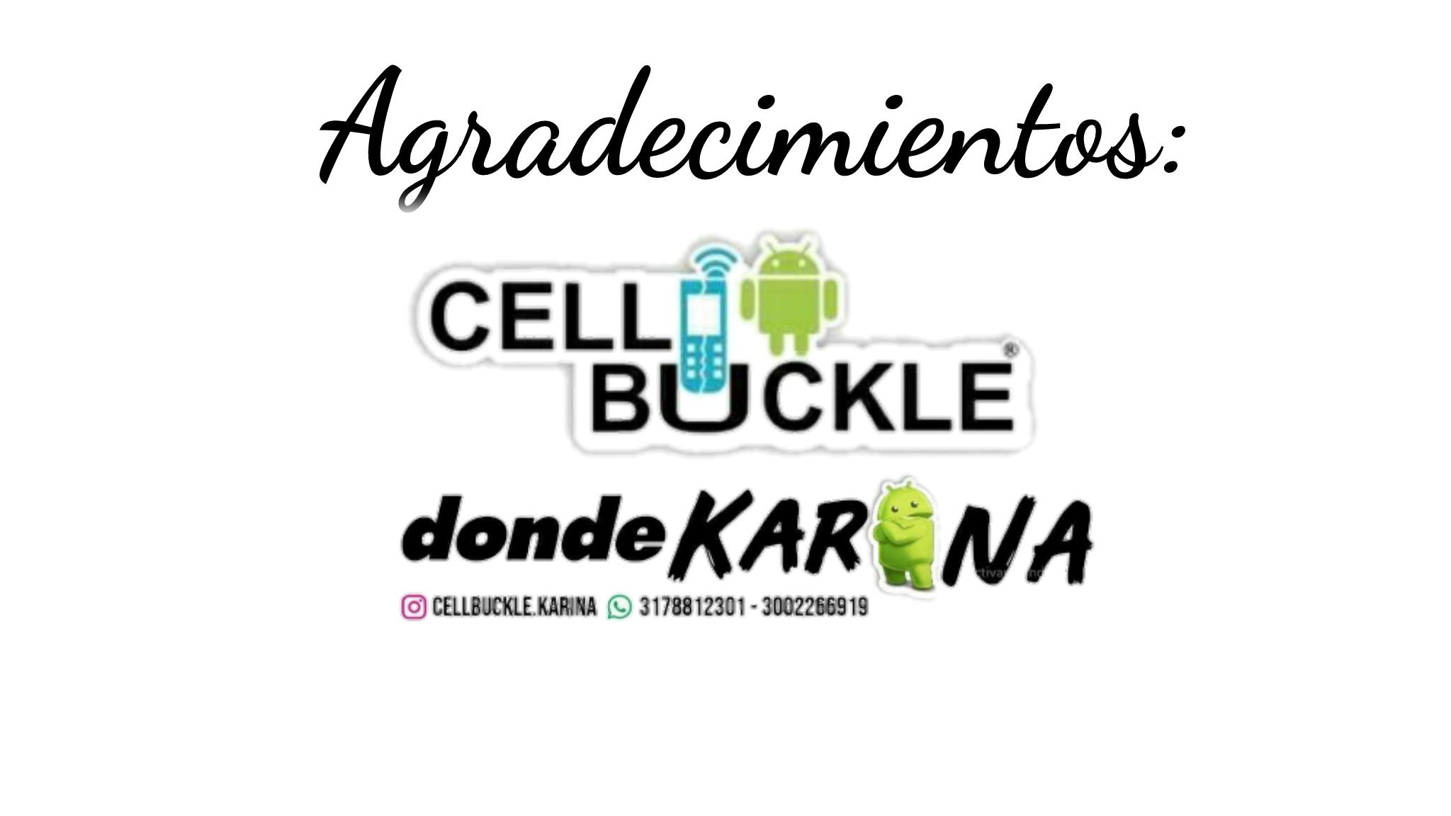 CellBuckle donde Karina
