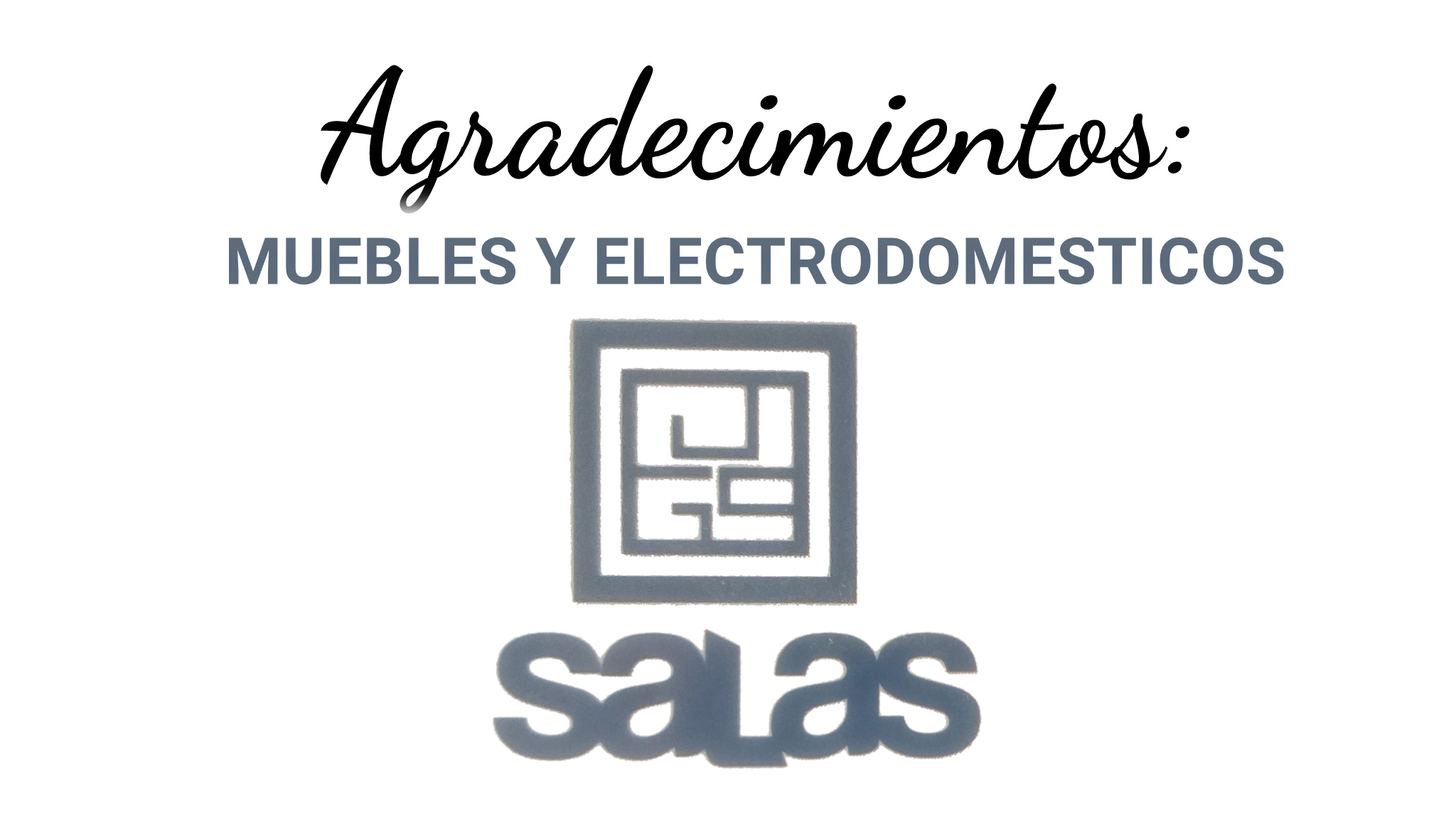 Muebles y Electrodomesticos Salas